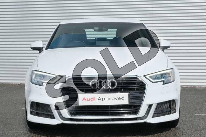 Image seven of this 2020 Audi A3 Diesel Saloon 30 TDI 116 S Line 4dr in Glacier White Metallic at Coventry Audi