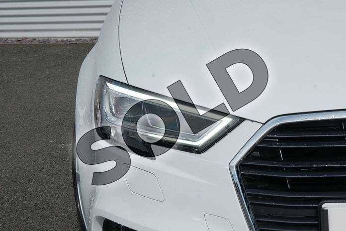 Image eight of this 2020 Audi A3 Diesel Saloon 30 TDI 116 S Line 4dr in Glacier White Metallic at Coventry Audi