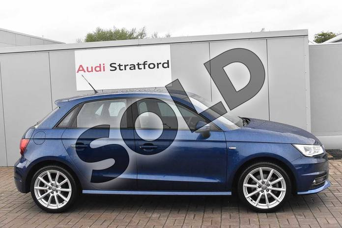 Image four of this 2016 Audi A1 Sportback 1.4 TFSI S Line 5dr in Scuba Blue Metallic at Stratford Audi