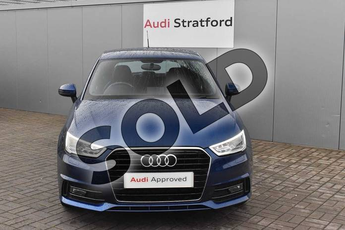 Image seven of this 2016 Audi A1 Sportback 1.4 TFSI S Line 5dr in Scuba Blue Metallic at Stratford Audi