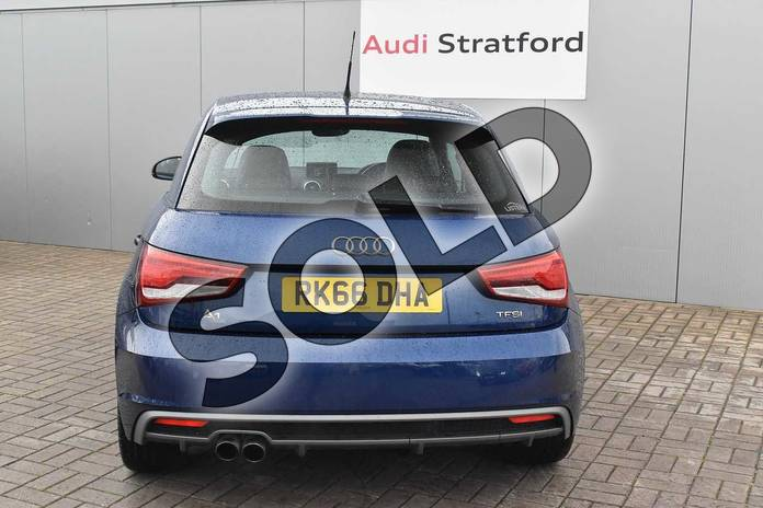 Image nine of this 2016 Audi A1 Sportback 1.4 TFSI S Line 5dr in Scuba Blue Metallic at Stratford Audi