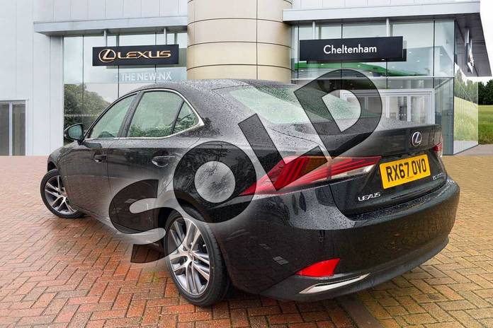 Image three of this 2017 Lexus IS Saloon 300h Advance 4dr CVT Auto in Black at Lexus Cheltenham