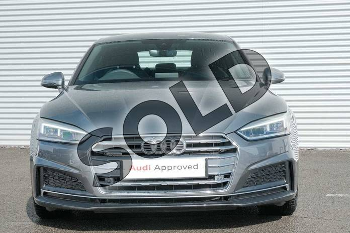 Image seven of this 2020 Audi A5 Diesel Sportback 40 TDI Quattro S Line 5dr S Tronic in Monsoon Grey Metallic at Coventry Audi