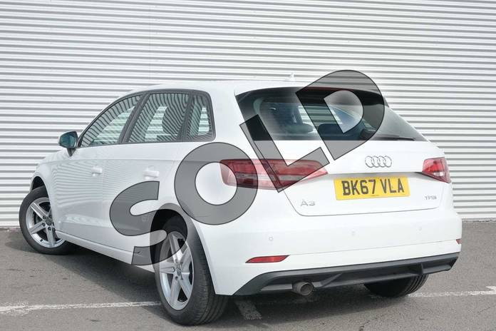 Image three of this 2017 Audi A3 Sportback 1.0 TFSI SE 5dr in Ibis White at Coventry Audi