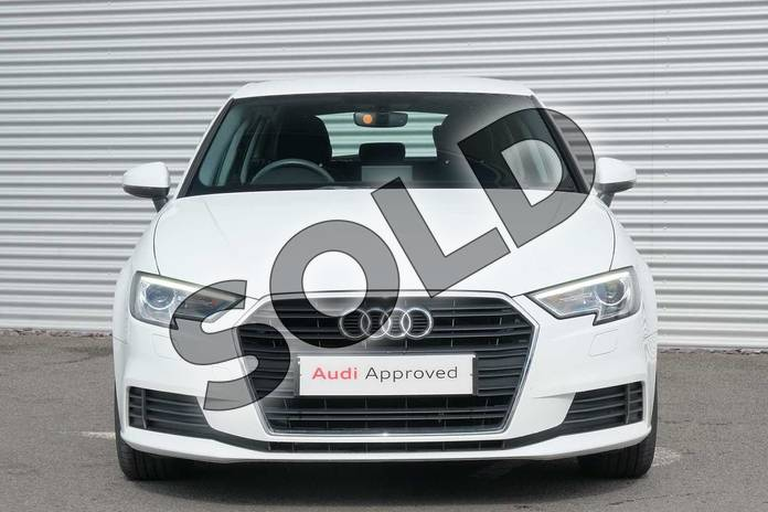 Image seven of this 2017 Audi A3 Sportback 1.0 TFSI SE 5dr in Ibis White at Coventry Audi