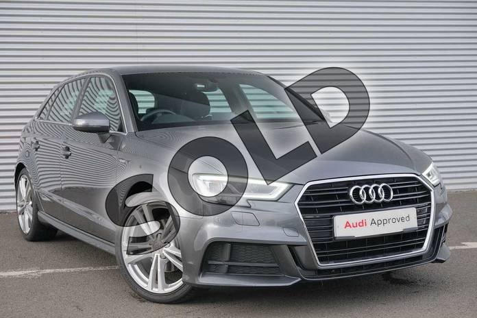 Picture of Audi A3 1.5 TFSI S Line 5dr S Tronic in Daytona Grey, pearl effect