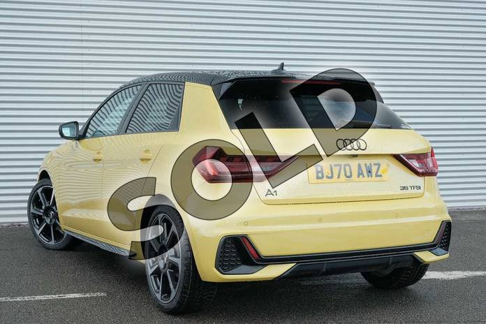 Image three of this 2020 Audi A1 Sportback Special Editions 35 TFSI S Line Style Edition 5dr S Tronic in Python Yellow Metallic at Coventry Audi
