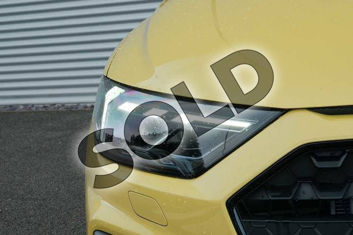 Image eight of this 2020 Audi A1 Sportback Special Editions 35 TFSI S Line Style Edition 5dr S Tronic in Python Yellow Metallic at Coventry Audi