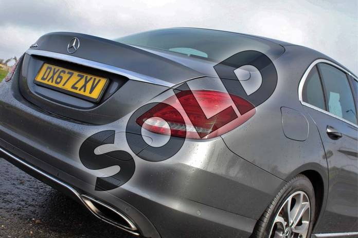 Image twenty-eight of this 2017 Mercedes-Benz C Class Saloon C350e Sport 4dr Auto in Selenite Grey metallic at Mercedes-Benz of Lincoln