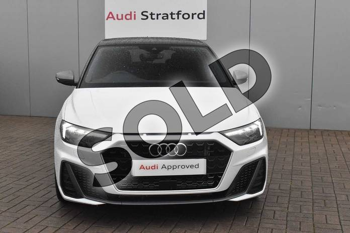Image seven of this 2020 Audi A1 Sportback 40 TFSI S Line Competition 5dr S Tronic in Glacier White Metallic at Stratford Audi