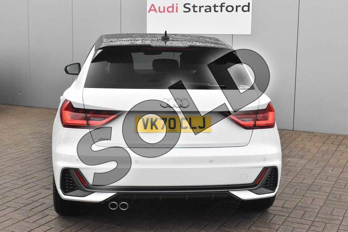 Image nine of this 2020 Audi A1 Sportback 40 TFSI S Line Competition 5dr S Tronic in Glacier White Metallic at Stratford Audi