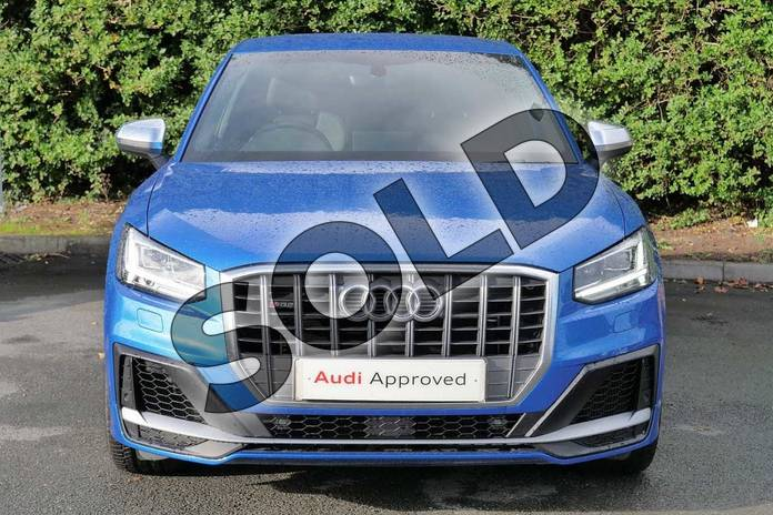 Image seven of this 2020 Audi Q2 Estate SQ2 Quattro 5dr S Tronic in Ara Blue Crystal Effect at Worcester Audi