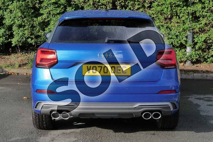 Image nine of this 2020 Audi Q2 Estate SQ2 Quattro 5dr S Tronic in Ara Blue Crystal Effect at Worcester Audi