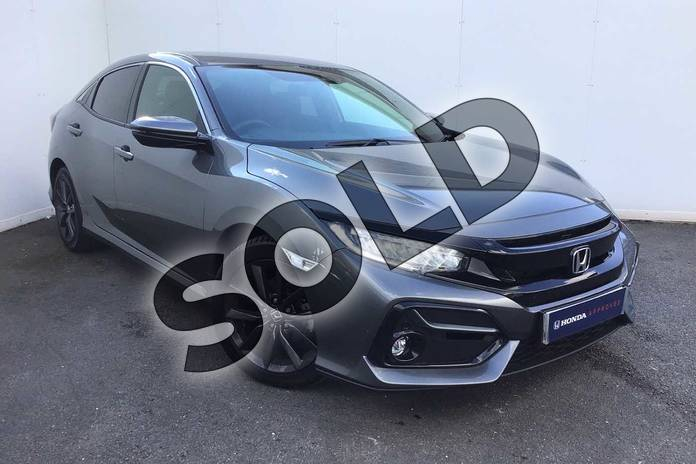 Picture of Honda Civic 1.0 VTEC Turbo 126 SR 5dr in Polished Metal