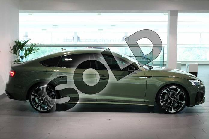 Image four of this 2020 Audi A5 Sportback Special Editions 40 TDI Quattro Edition 1 5dr S Tronic in District Green Metallic at Birmingham Audi