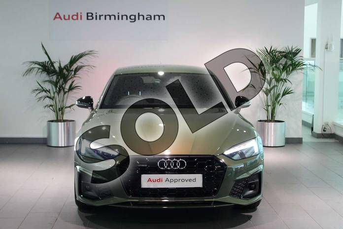 Image seven of this 2020 Audi A5 Sportback Special Editions 40 TDI Quattro Edition 1 5dr S Tronic in District Green Metallic at Birmingham Audi