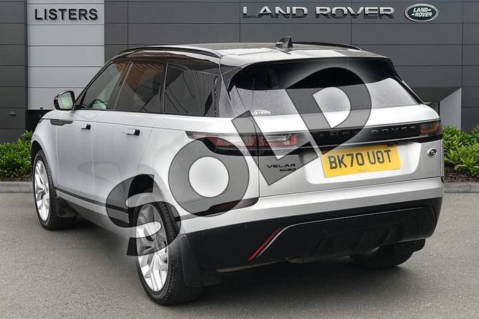 Image two of this 2020 Range Rover Velar Diesel Estate 2.0 D180 R-Dynamic SE 5dr Auto in Indus Silver at Listers Land Rover Solihull