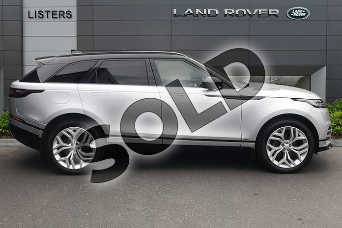Image five of this 2020 Range Rover Velar Diesel Estate 2.0 D180 R-Dynamic SE 5dr Auto in Indus Silver at Listers Land Rover Solihull