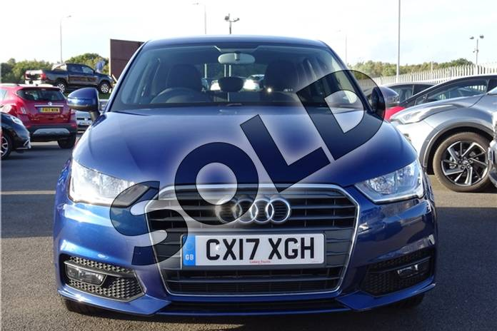 Image two of this 2017 Audi A1 Sportback 1.4 TFSI Sport 5dr in Metallic - Utopia blue at Listers Toyota Lincoln