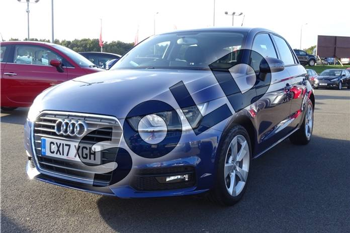 Image three of this 2017 Audi A1 Sportback 1.4 TFSI Sport 5dr in Metallic - Utopia blue at Listers Toyota Lincoln