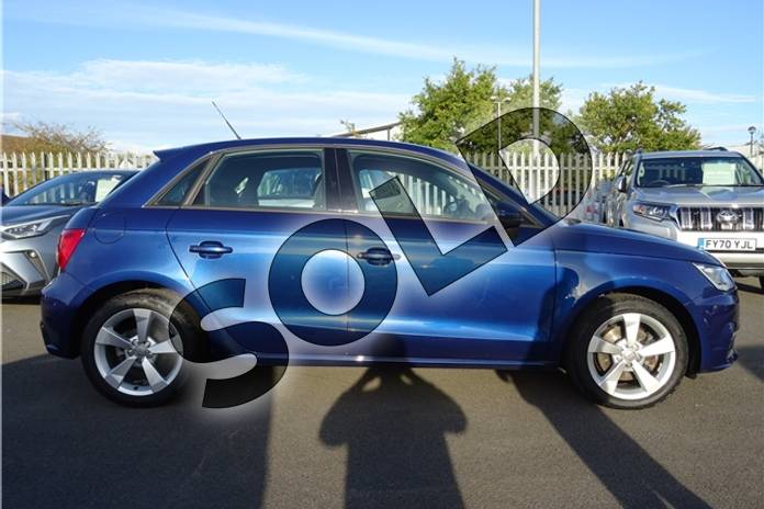 Image four of this 2017 Audi A1 Sportback 1.4 TFSI Sport 5dr in Metallic - Utopia blue at Listers Toyota Lincoln