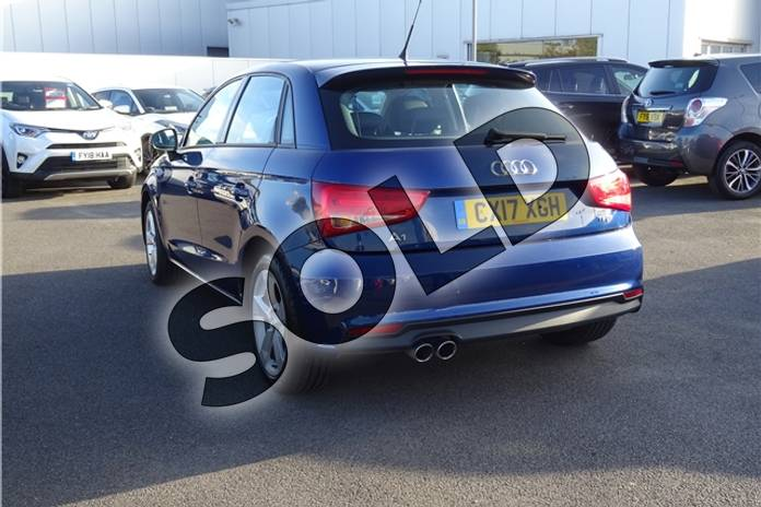 Image seven of this 2017 Audi A1 Sportback 1.4 TFSI Sport 5dr in Metallic - Utopia blue at Listers Toyota Lincoln