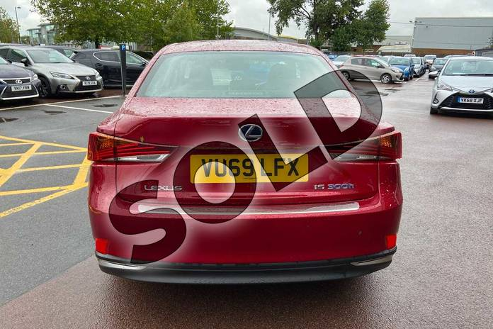 Image eleven of this 2019 Lexus IS Saloon 300h 4dr CVT Auto in Red at Lexus Cheltenham