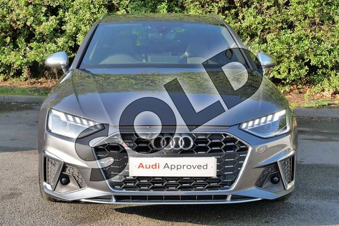 Image seven of this 2020 Audi A4 Diesel Avant S4 TDI Quattro 5dr Tiptronic in Daytona Grey Pearlescent at Worcester Audi