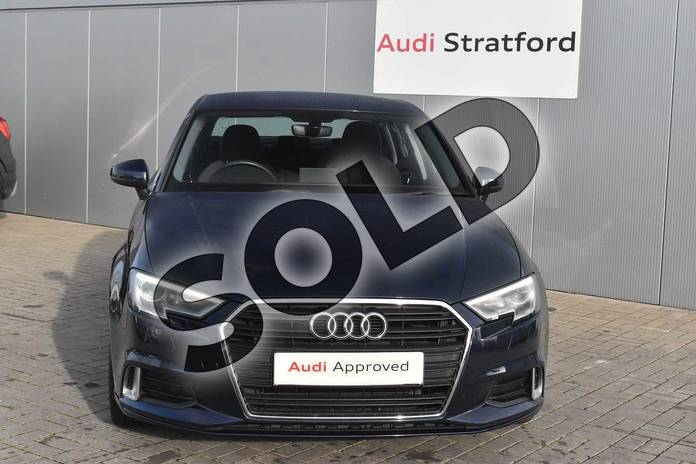 Image seven of this 2017 Audi A3 Saloon 1.4 TFSI Sport 4dr in Cosmos blue, metallic at Stratford Audi