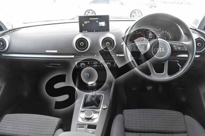 Image eighteen of this 2017 Audi A3 Saloon 1.4 TFSI Sport 4dr in Cosmos blue, metallic at Stratford Audi