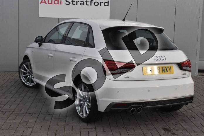 Image three of this 2018 Audi A1 Sportback 1.4 TFSI S Line Nav 5dr in Shell White at Stratford Audi