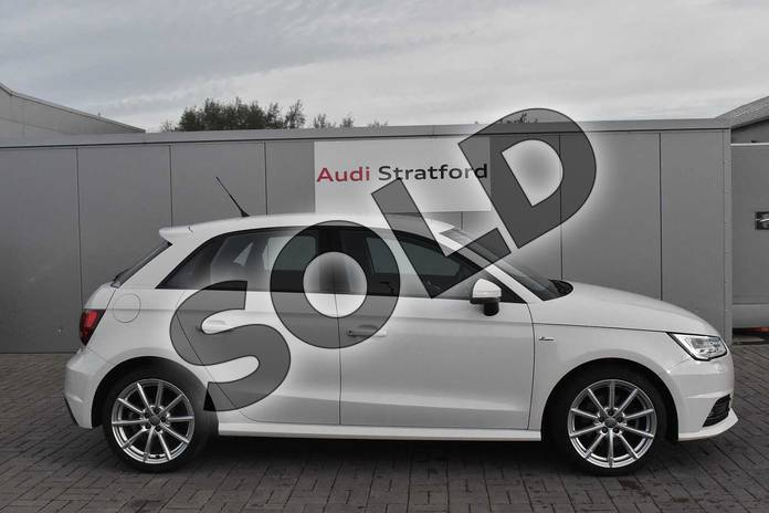 Image four of this 2018 Audi A1 Sportback 1.4 TFSI S Line Nav 5dr in Shell White at Stratford Audi