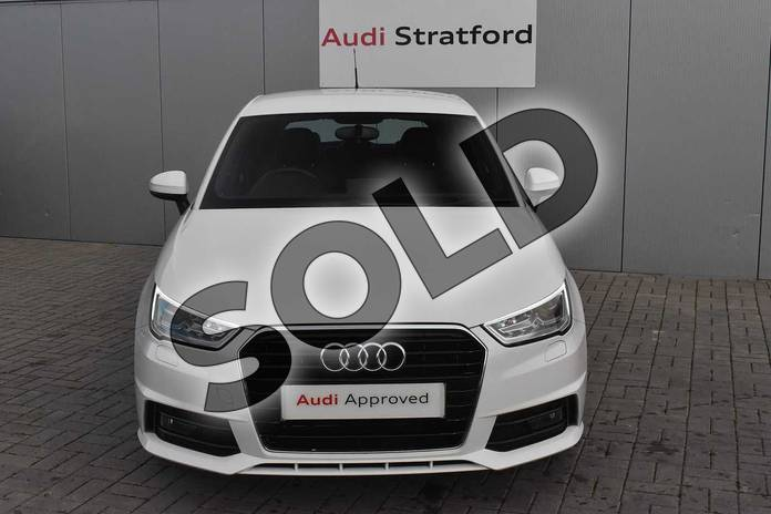 Image seven of this 2018 Audi A1 Sportback 1.4 TFSI S Line Nav 5dr in Shell White at Stratford Audi