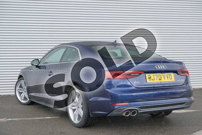 Image three of this 2020 Audi A5 Diesel Coupe 40 TDI Quattro S Line 2dr S Tronic in Navarra Blue Metallic at Coventry Audi