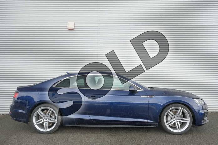 Image four of this 2020 Audi A5 Diesel Coupe 40 TDI Quattro S Line 2dr S Tronic in Navarra Blue Metallic at Coventry Audi