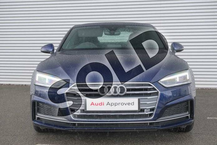 Image seven of this 2020 Audi A5 Diesel Coupe 40 TDI Quattro S Line 2dr S Tronic in Navarra Blue Metallic at Coventry Audi