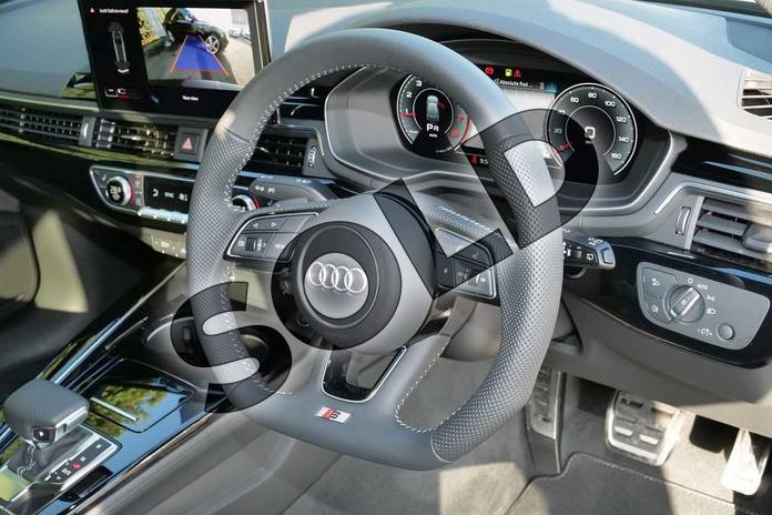 Image six of this 2020 Audi A4 Avant 35 TFSI Black Edition 5dr S Tronic in Myth Black Metallic at Worcester Audi