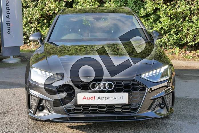 Image seven of this 2020 Audi A4 Avant 35 TFSI Black Edition 5dr S Tronic in Myth Black Metallic at Worcester Audi