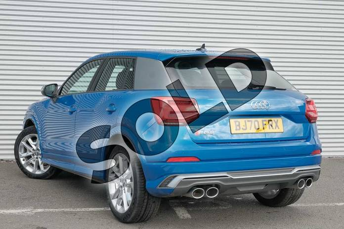 Image three of this 2020 Audi Q2 Estate SQ2 Quattro 5dr S Tronic in Ara Blue Crystal Effect at Coventry Audi