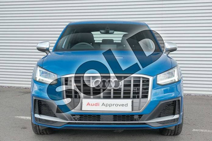 Image eight of this 2020 Audi Q2 Estate SQ2 Quattro 5dr S Tronic in Ara Blue Crystal Effect at Coventry Audi