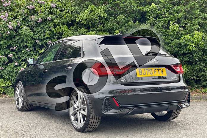 Image three of this 2020 Audi A1 Sportback 35 TFSI Vorsprung 5dr S Tronic in Myth Black Metallic at Coventry Audi
