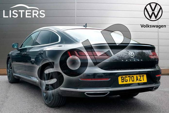 Image three of this 2020 Volkswagen Arteon Diesel Fastback 2.0 TDI EVO SCR R-Line 5dr DSG in Deep black at Listers Volkswagen Leamington Spa