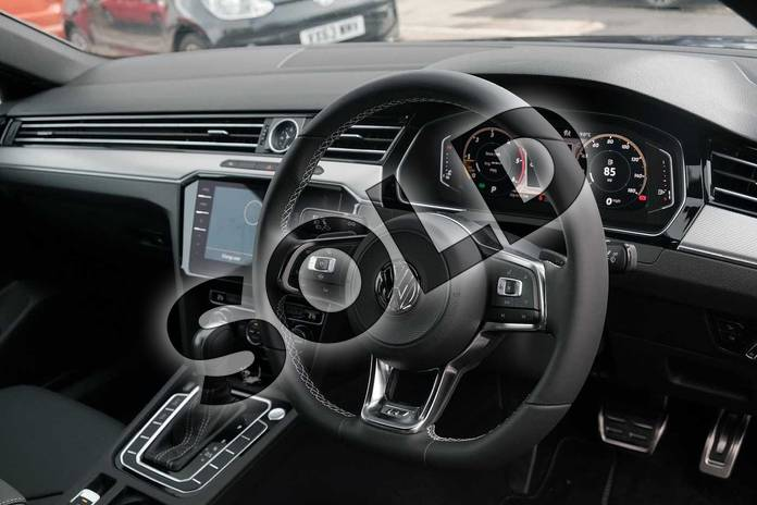 Image six of this 2020 Volkswagen Arteon Diesel Fastback 2.0 TDI EVO SCR R-Line 5dr DSG in Deep black at Listers Volkswagen Leamington Spa