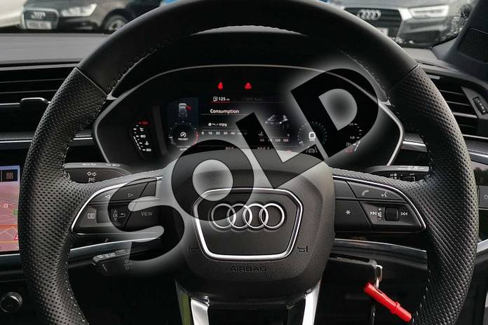 Image six of this 2020 Audi Q3 Sportback 35 TFSI S Line 5dr in Ibis White at Worcester Audi