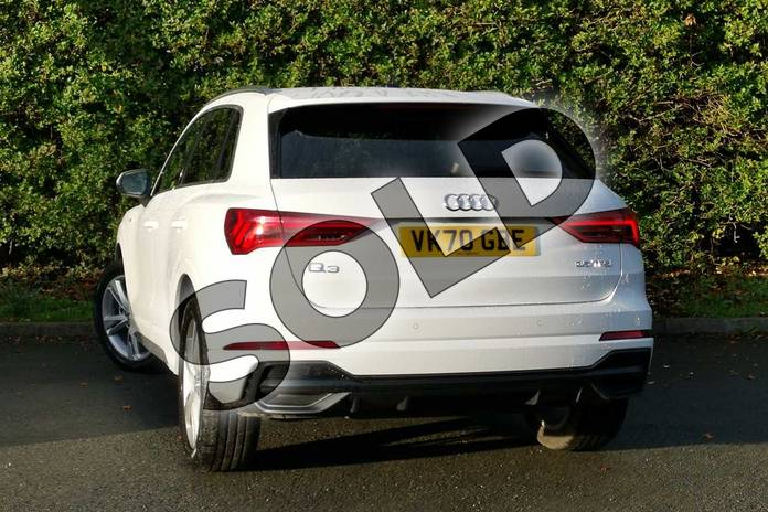 Image nine of this 2020 Audi Q3 Sportback 35 TFSI S Line 5dr in Ibis White at Worcester Audi
