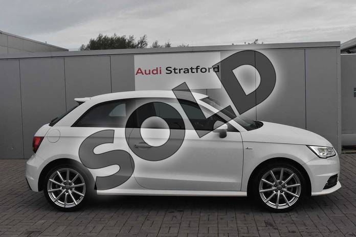 Image four of this 2017 Audi A1 Hatchback 1.4 TFSI S Line 3dr in Shell White at Stratford Audi