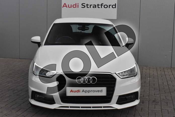 Image seven of this 2017 Audi A1 Hatchback 1.4 TFSI S Line 3dr in Shell White at Stratford Audi
