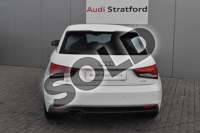 Image nine of this 2017 Audi A1 Hatchback 1.4 TFSI S Line 3dr in Shell White at Stratford Audi