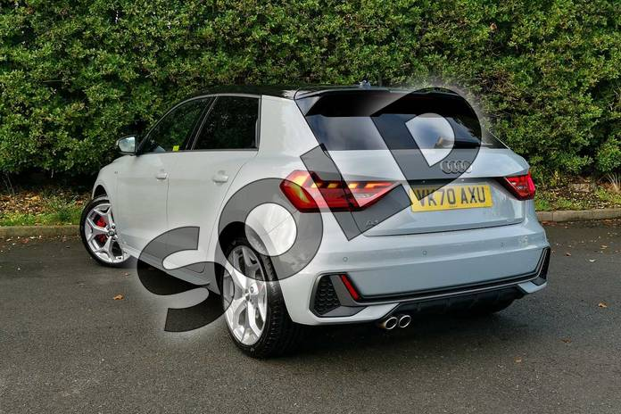 Image three of this 2020 Audi A1 Sportback 40 TFSI S Line Competition 5dr S Tronic in Arrow Grey Pearlescent at Worcester Audi