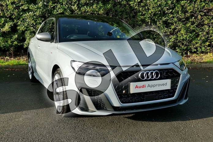 Image seven of this 2020 Audi A1 Sportback 40 TFSI S Line Competition 5dr S Tronic in Arrow Grey Pearlescent at Worcester Audi